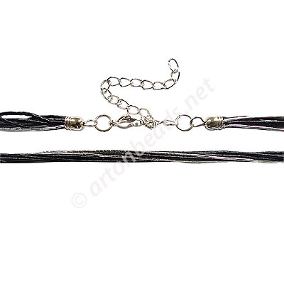 Artificial Cord With Clasp - 1mmx8 - 21""