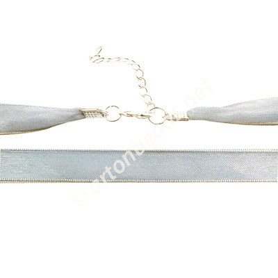 Ribbon With Clasp - 12mmx2 - 16.5""