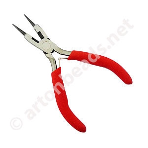 *Round Nose Pliers With Cutter - 5 Inches