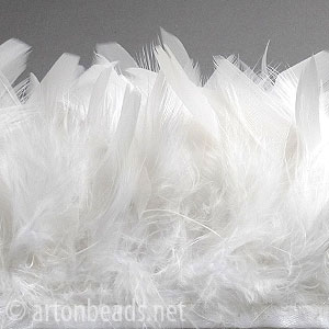 "Goose Feather - 2.2-3.12"" - 1 ft"