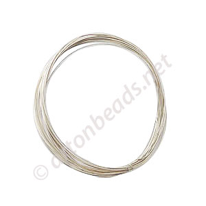 Sterling Sillver Wire - 30 Gauge/0.25mm - 3M