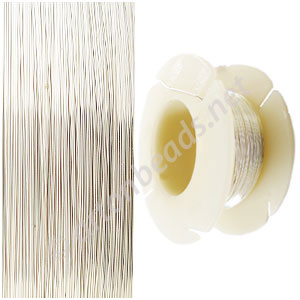 Sterling Sillver Wire - 30 Gauge/0.25mm - 195Ft