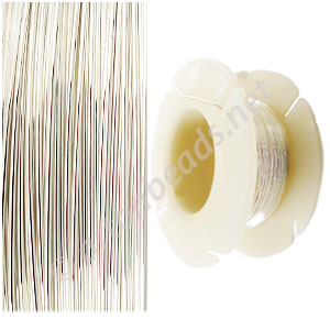 Sterling Sillver Wire -22Gauge/ 0.64mm - 31 Ft