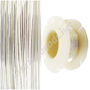 Sterling Sillver Wire - 18 Gauge/1.0mm - 12Ft