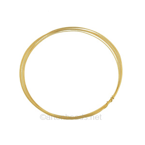 *14K Gold Filled Wire - 26 Gauge/0.4mm - 4 Ft