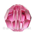 Rose - Swarovski 5000 Round - 4mm