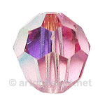 Light Rose AB - Swarovski 5000 Round - 5mm