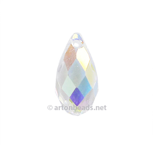 Crystal AB - Swarovski 6010 Tear Drop - 13x6.5mm