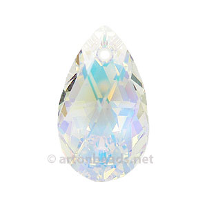 *Crystal AB - Swarovski 6106 Flat Tear Drop - 16mm