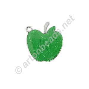 Enamel Charm - Apple