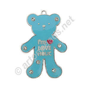 Enamel Charm - Large Bear