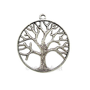 Casting Charm - Tree - 34x38mm - 5pcs