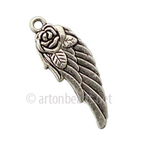 Casting Charm - Wings - 12x31mm - 10pcs
