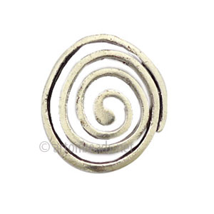 Casting Charm - Abstract - 28x32mm - 3pcs