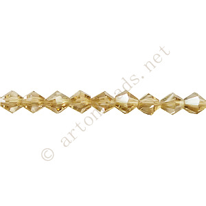 Chinese Crystal Bicone - Greige - 4mm