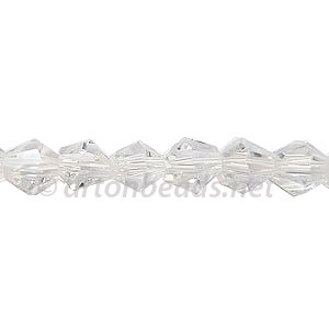 Chinese Crystal Bicone - Crystal Luster - 6mm