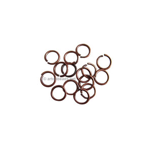 Jump Ring - Antique Copper Plated - 0.7x4mm - 200pcs