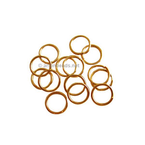 Jump Ring - 18K Gold Plated - 0.8x6mm - 200pcs