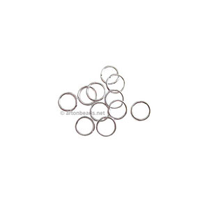 Jump Ring - 925 Silver Plated - 0.7x4mm - 200pcs