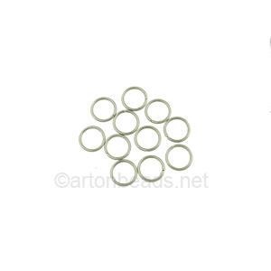 Jump Ring - Stainless Steel - 0.7x4mm - 200pcs
