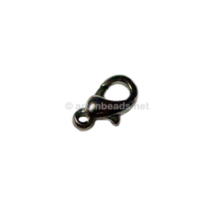 Lobster Clasp - Gun Metal Plated - 12mm - 50pcs