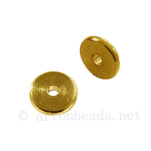 *Metal Beads - 18k Gold Plated - ID 1.5mm - 30pcs