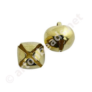 Bell - 18K Gold Plated - 15mm - 10pcs