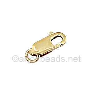 14K Gold Filled Lobster Clasp - 8mm - 2pcs