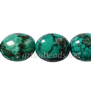 Turquoise - Nugget - 20x18mm