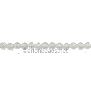 Moon Stone - Faceted - Round - 2mm