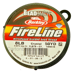 Fire Line - Size F - 8LB - 50YD