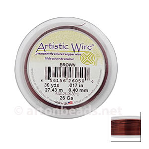 Artistic Wire - Brown - 0.40mm - 30Y