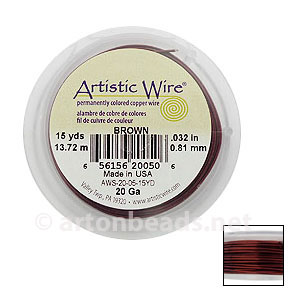 *Artistic Wire - Brown - 0.81mm - 15Y