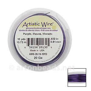 Artistic Wire - Purple - 0.81mm - 15Y