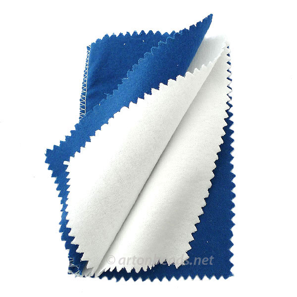 Jewelry Polishing Cloth - 6x4 Inches - 1pc