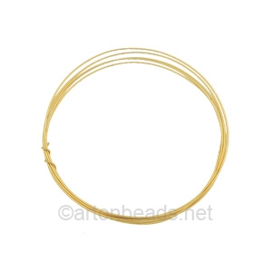 14K Gold Filled Wire - 24 Gauge/0.51mm - 3 Ft