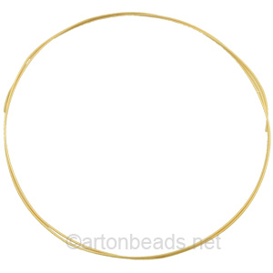 14K Gold Filled Wire - 22 Gauge/0.64mm - 2 Ft