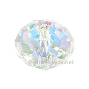 Crystal AB - Swarovski 5041 Large Hole Roundell - 12mm