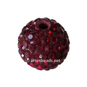 Siam - Swarovski Full Diamond Bead - 12mm